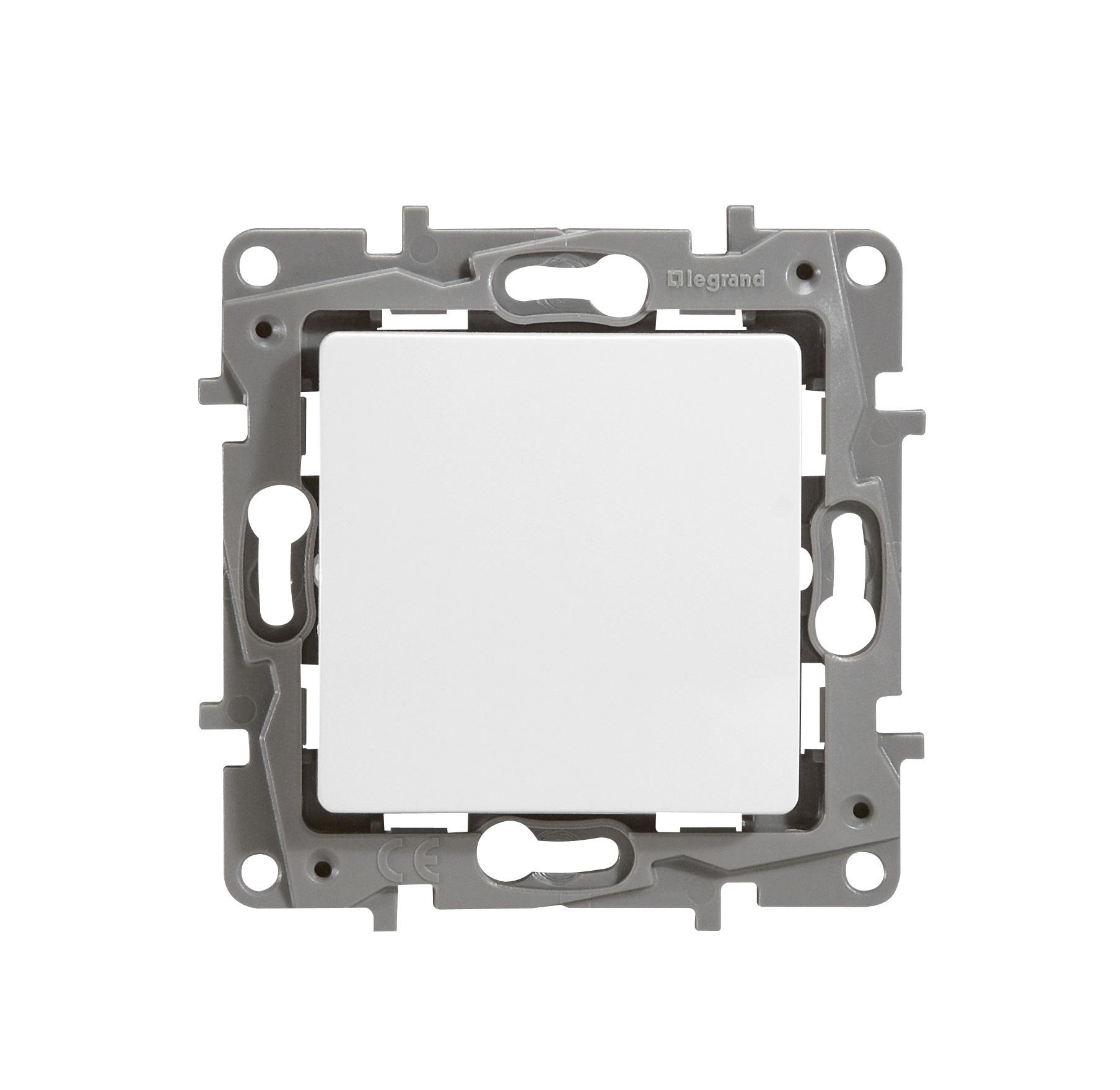 Механизм выключателя Legrand 1066871 выключатель legrand quteo 2 клавишный серый 782332