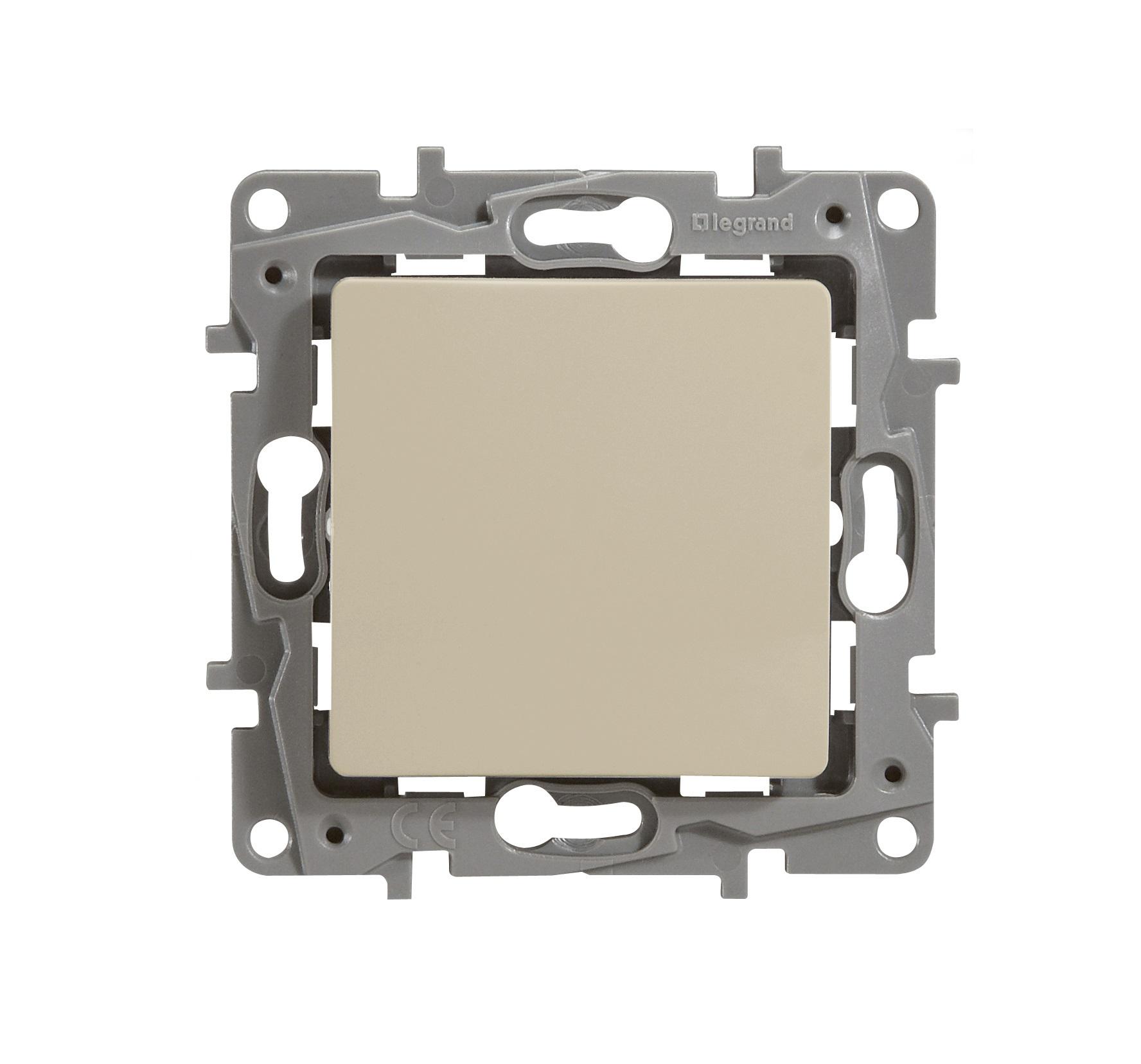 Механизм выключателя Legrand 1066872 выключатель legrand quteo 2 клавишный серый 782332