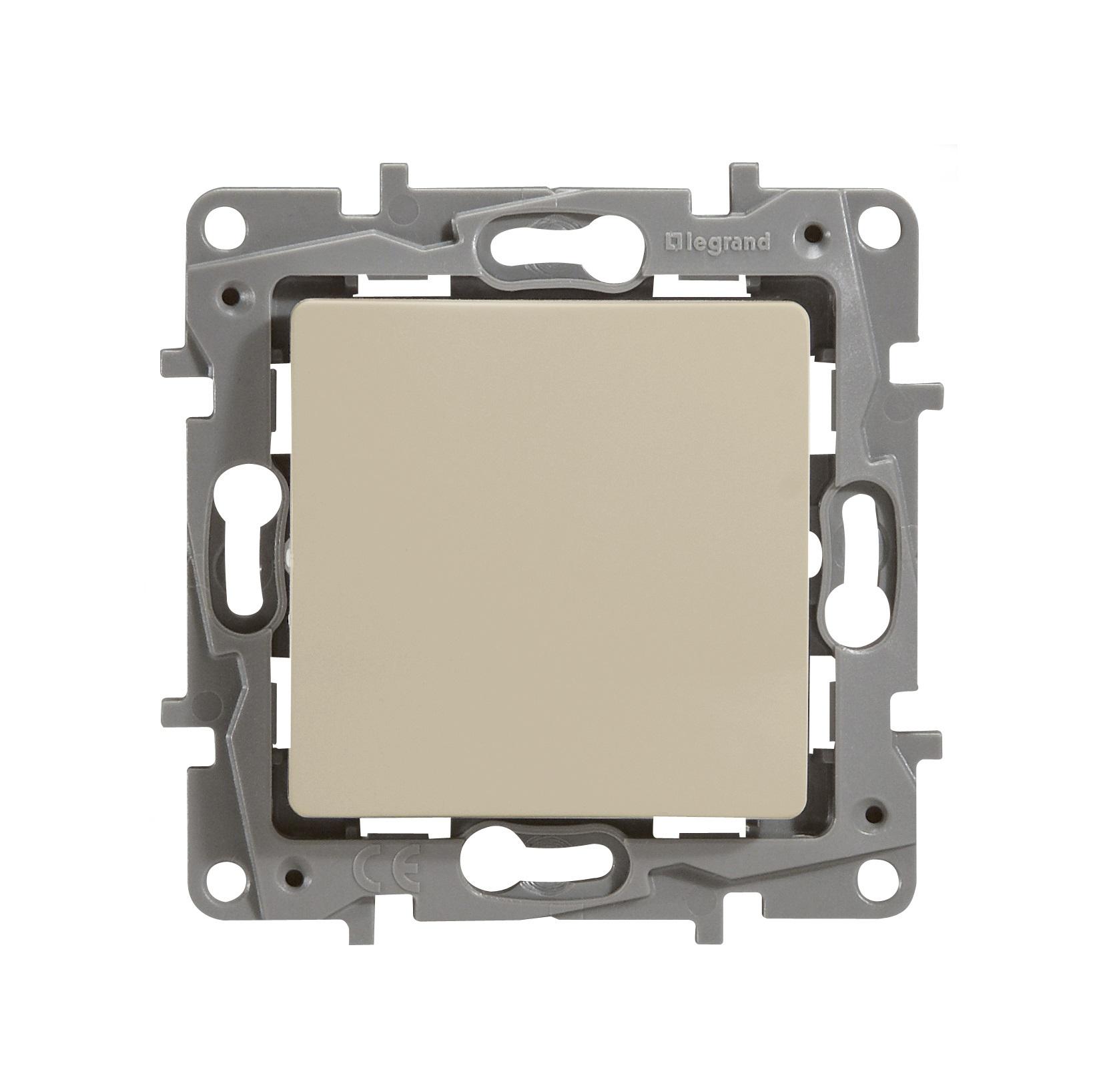 Механизм переключателя Legrand 1066880 выключатель legrand quteo 2 клавишный серый 782332
