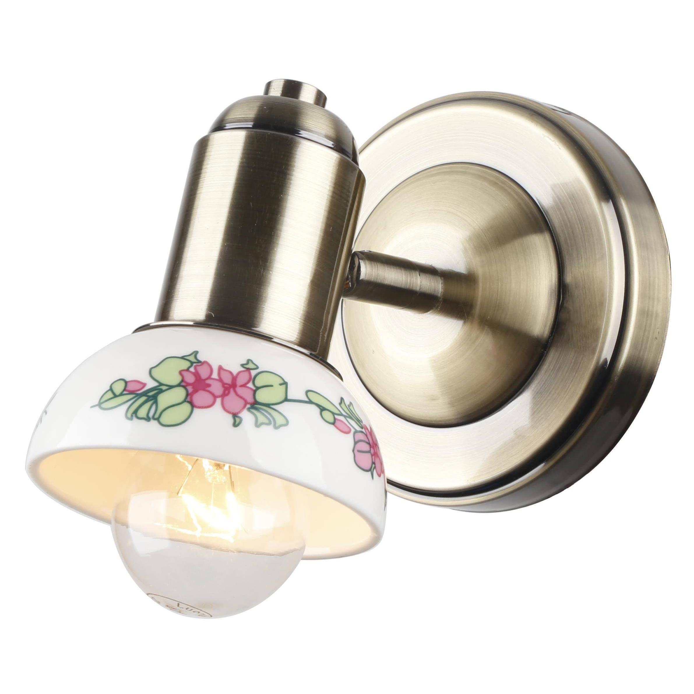 Светильник настенный Escada Alba 164/1a настенный светильник escada 121 1a e14х40w antique green