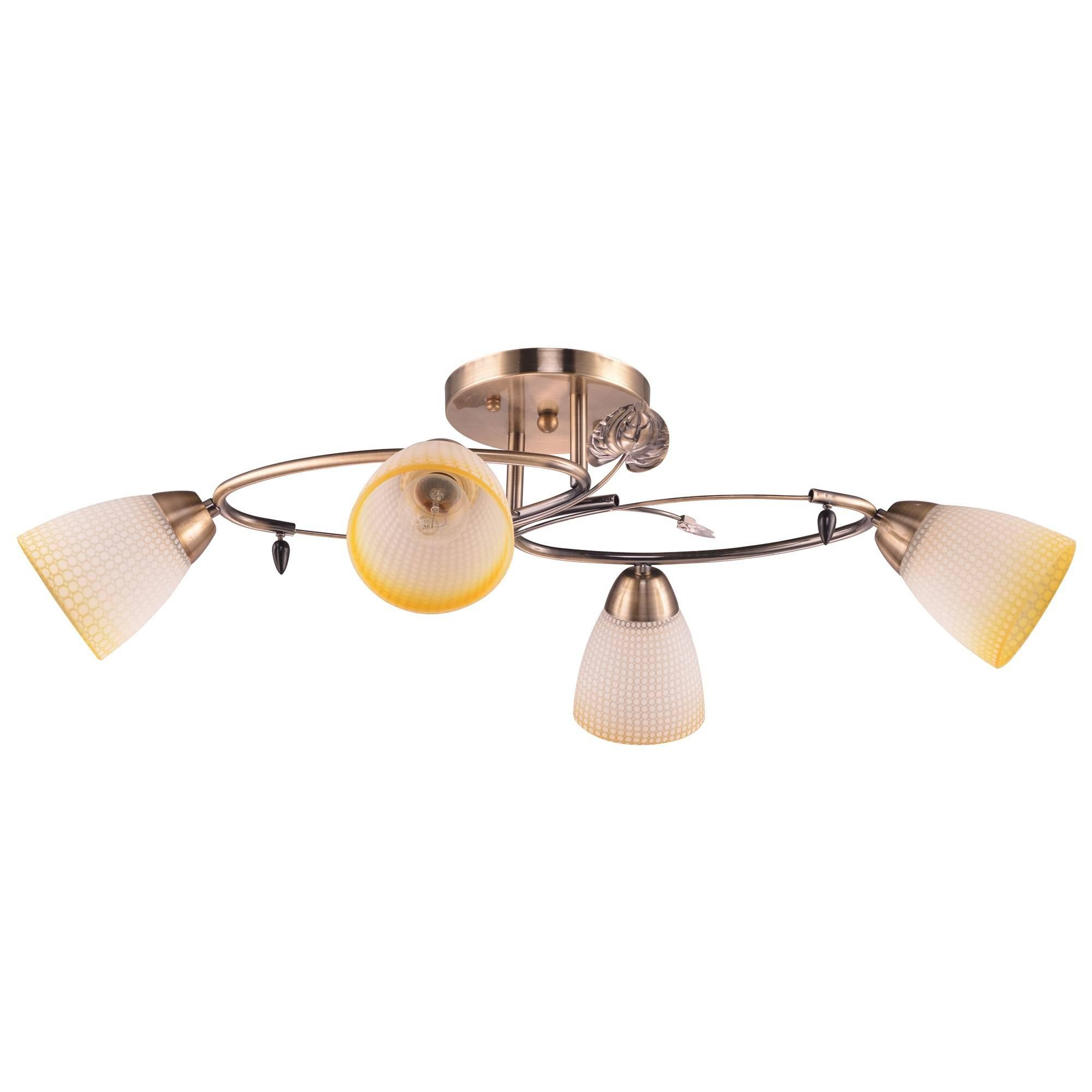 Люстра Escada 195/4pl потолочный светильник escada 5088r 4pl chrome
