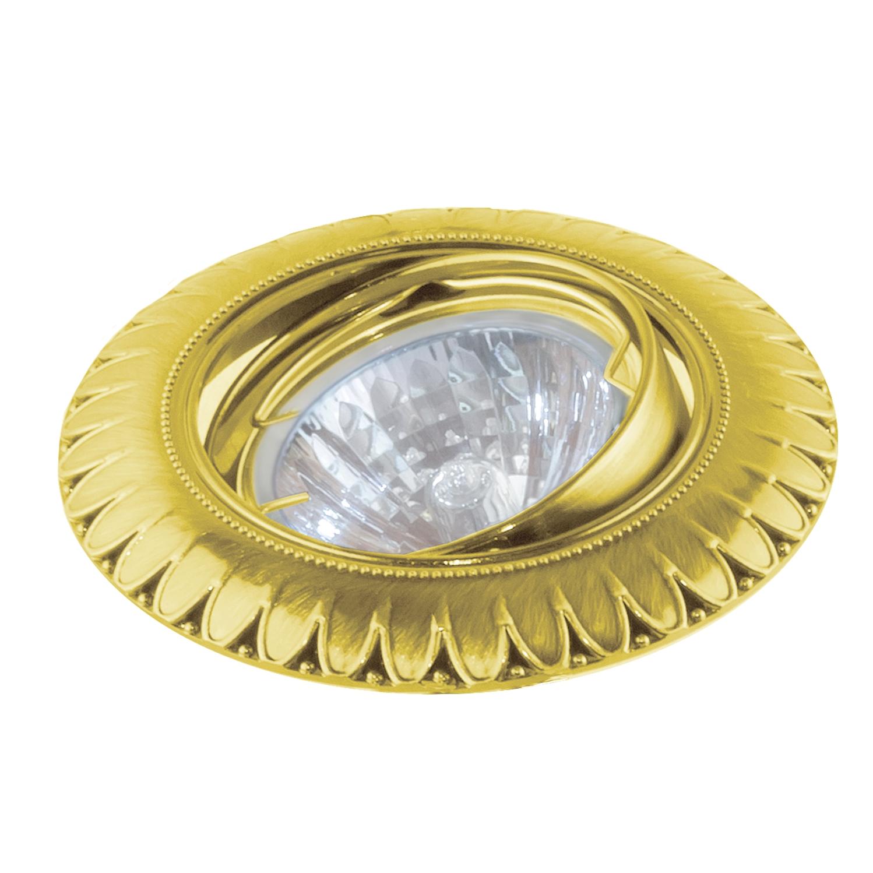 Купить Светильник встраиваемый Escada Aosta gu5.3 001 gd