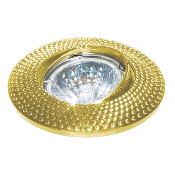 Купить Светильник встраиваемый Escada Milano gu5.3 001 gd
