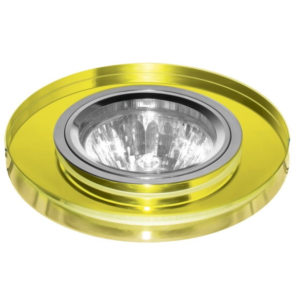 Светильник встраиваемый Escada Asti gu5.3 001 ch/yl