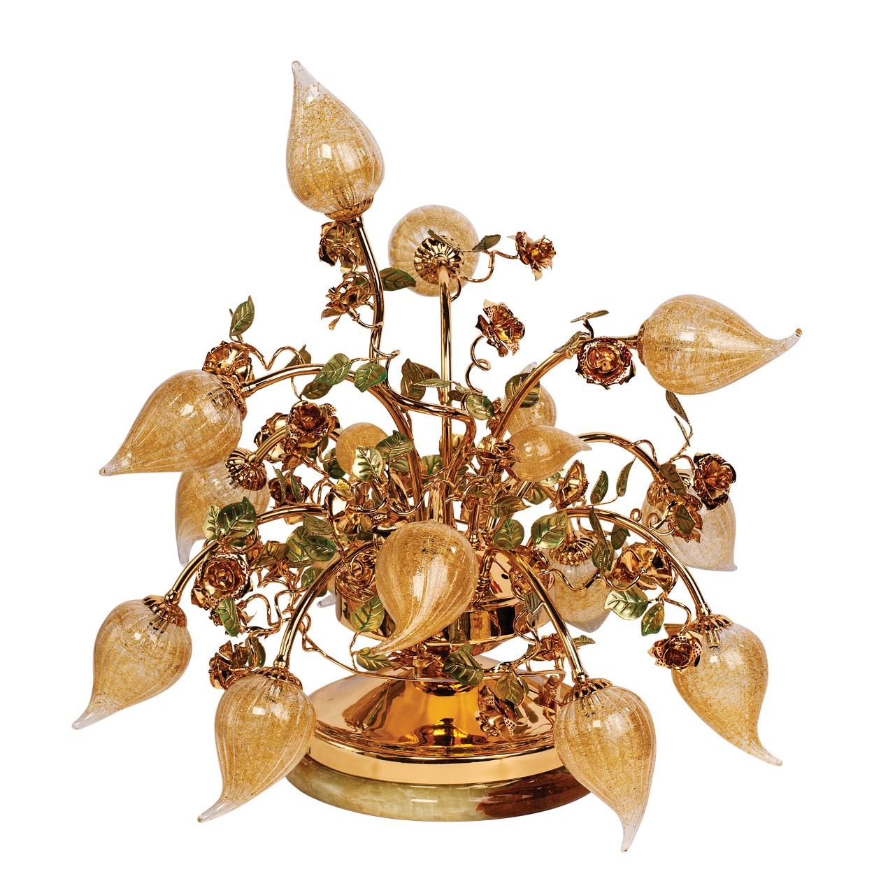 Лампа настольная Chiaro 623030413 Райский сад