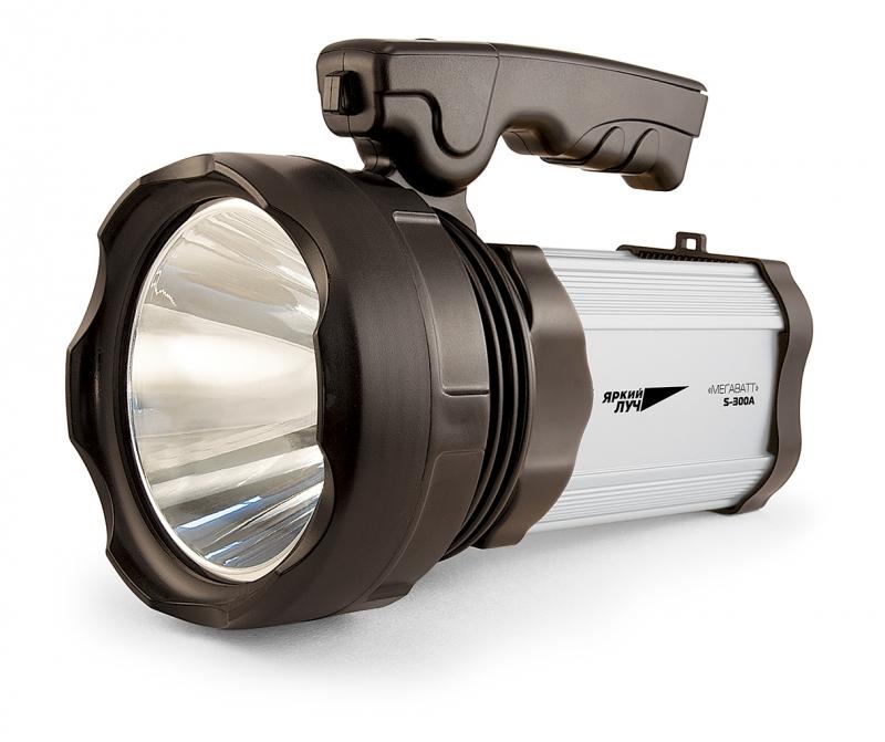 Фонарь ЯРКИЙ ЛУЧ S-300a МЕГАВАТТ фонарь прожектор кемпинг яркий луч