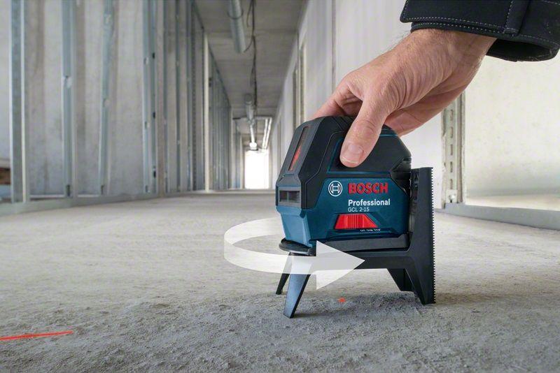 Уровень Bosch Gcl 2-15 + rm1+ потолочное крепление (0.601.066.e02)