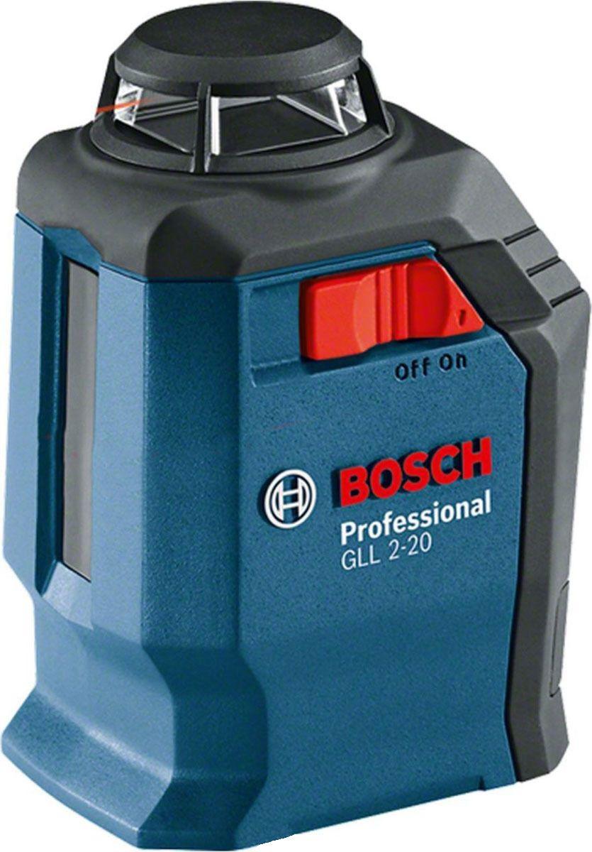 Уровень Bosch Gll 2-20 + bm3 + кейс (0.601.063.j00)