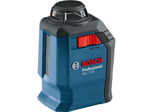Нивелир лазерный BOSCH GLL 2-20 + BM3 + кейс (0601063J00)