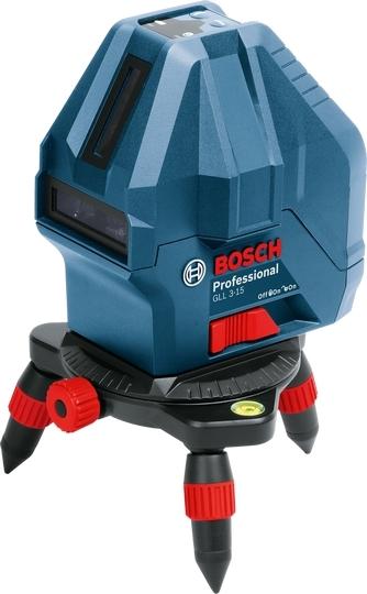 Уровень Bosch Gll 3-15 + мини штатив (0.601.063.m00) цена и фото