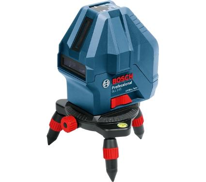 Лазерный построитель плоскостей BOSCH GLL 3-15 + мини штатив (0601063M00)