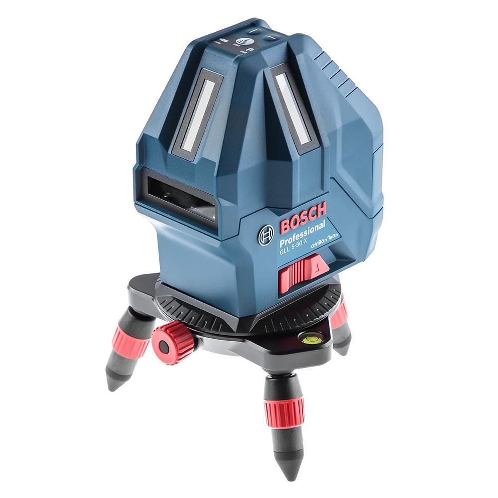 Уровень Bosch Gll 5-50 + мини штатив (0.601.063.n00) цена и фото