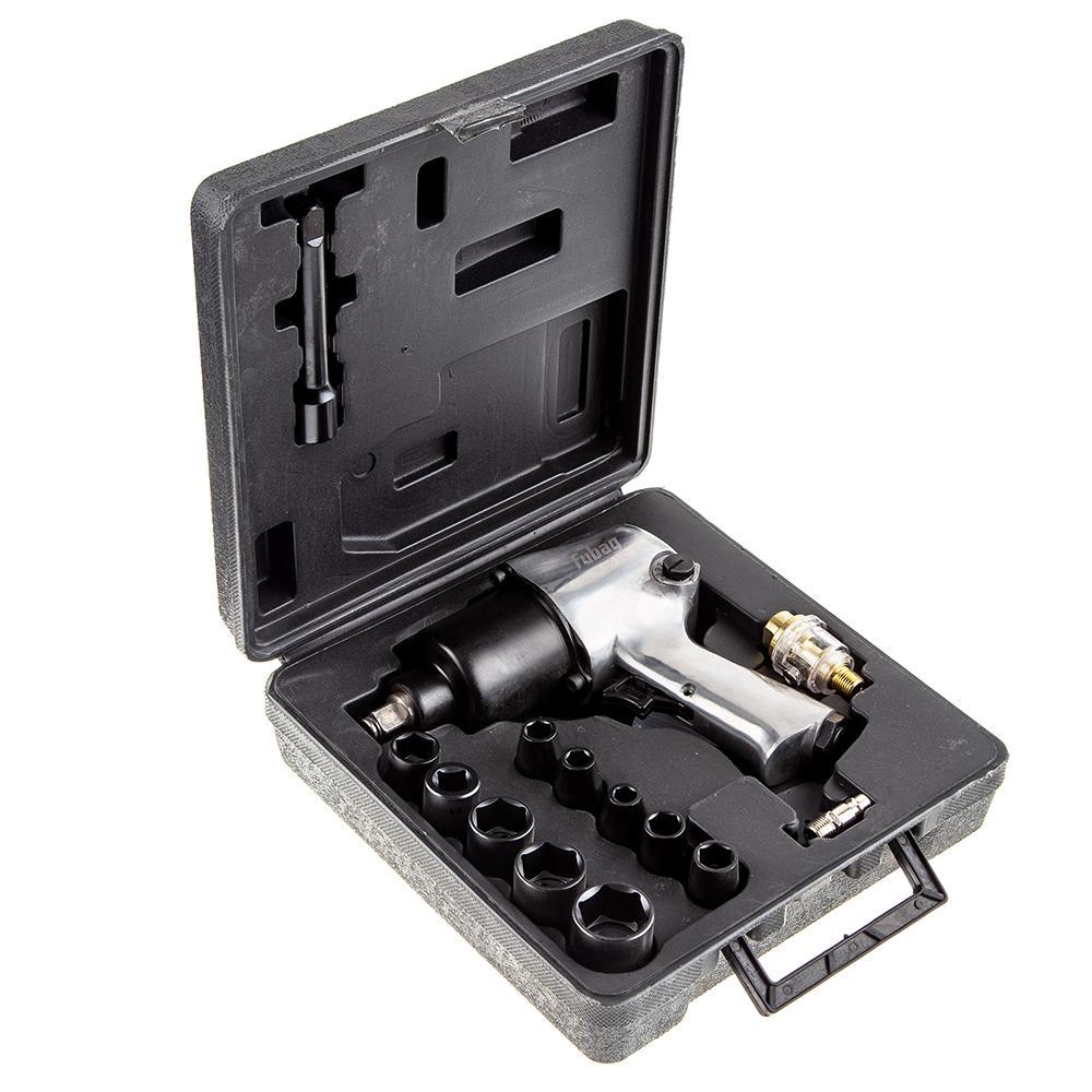 Гайковерт пневматический ударный Fubag Iw 580 + набор 100191