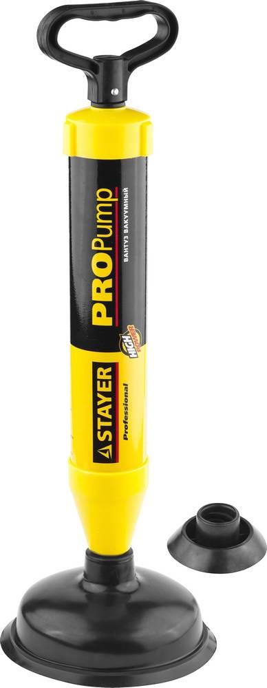 Вантуз Stayer Professional propump 51925 вантуз вакуумный 150мм