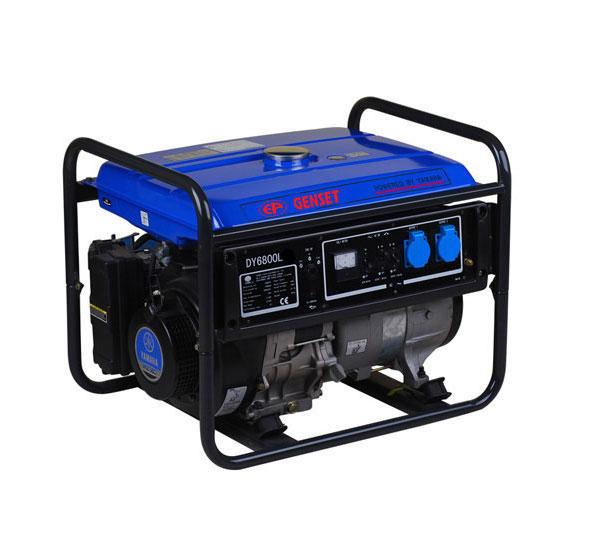Фото #1: Бензиновый генератор ЕР genset Dy 6800l