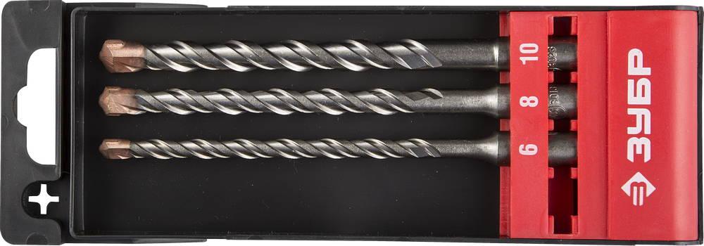 Набор буров ЗУБР 29314-h3-2 инструмент токарные резцы зубр 18371 h3