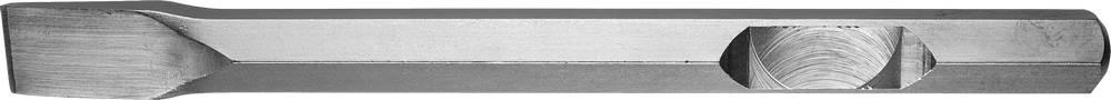 Зубило ЗУБР 29377-35-400 зубило зубр 29377 35 400 профессионал плоское для молотков hex 28мм 35х400мм
