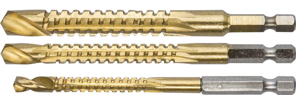 Набор сверл ЗУБР 29966-h3 инструмент токарные резцы зубр 18371 h3