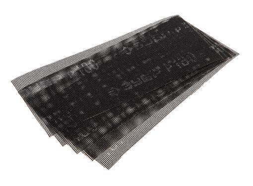 Абразивная сетка ЗУБР 35483-180, P180 115х280мм (5шт.)