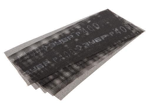 Абразивная сетка ЗУБР 35483-400, P400 115х280мм (5шт.)
