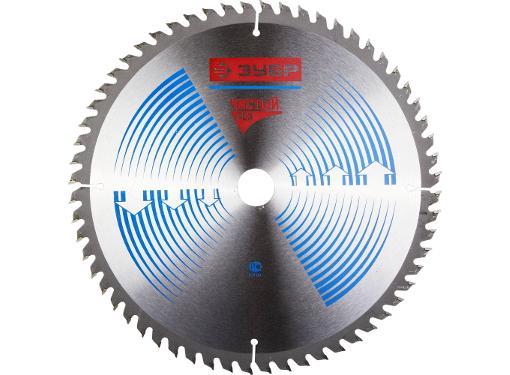 Диск пильный твердосплавный ЗУБР Ф255х30мм 60зуб. (36905-255-30-60)