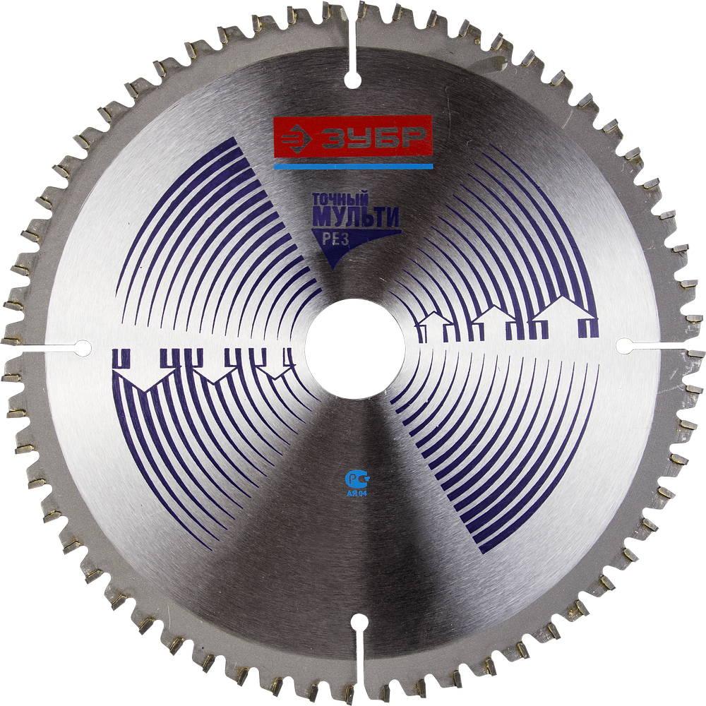 Диск пильный твердосплавный ЗУБР 36907-185-30-60 диск пильный твердосплавный зубр 36907 200 30 60