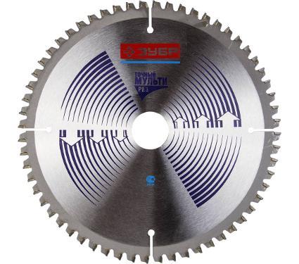 Диск пильный твердосплавный ЗУБР Ф230х30мм 60зуб. (36907-230-30-60)