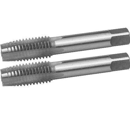 Набор ручных метчиков ЗУБР М14х1.5мм 2шт. (4-28006-14-1.5-H2)