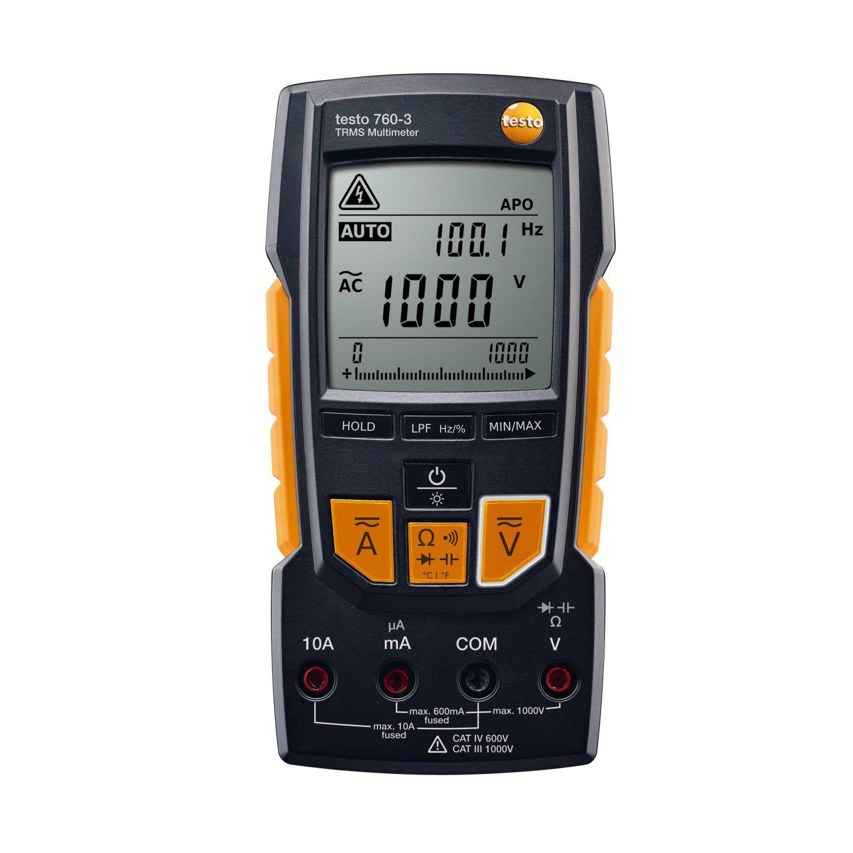 Мультиметр Testo 760-3 газоанализатор testo 315 3 без bluetooth
