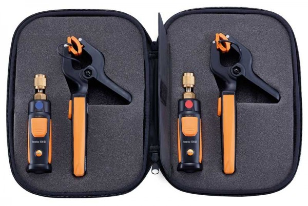 Комплект Testo 0563 0002 testo 550 1 refrigeration manifold kit 0563 5505 with 1 clamp probe surface temperature measurement