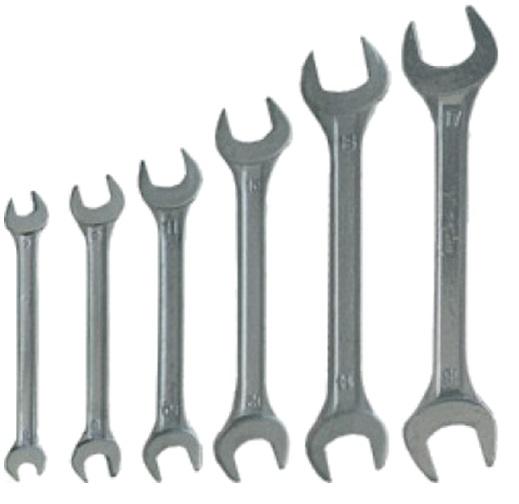 Набор ключей Kroft 210206 (6 - 17 мм) набор ключей kroft 210106 8 17 мм