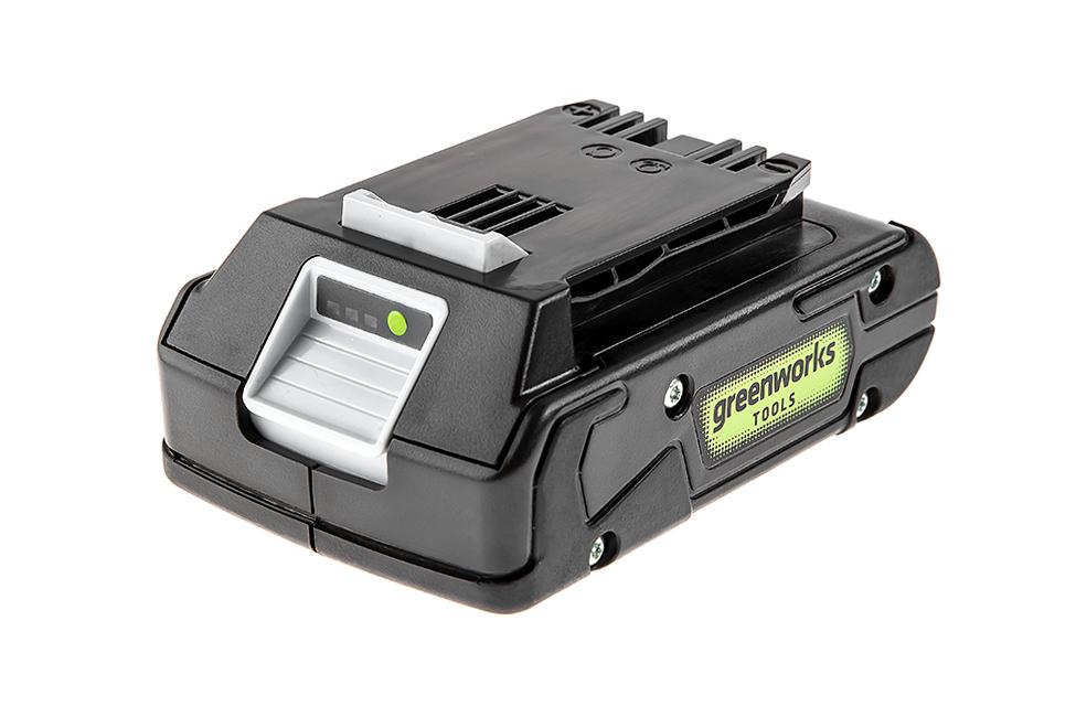 Аккумулятор Greenworks G24b2 (2902707) БЕЗ ЗУ