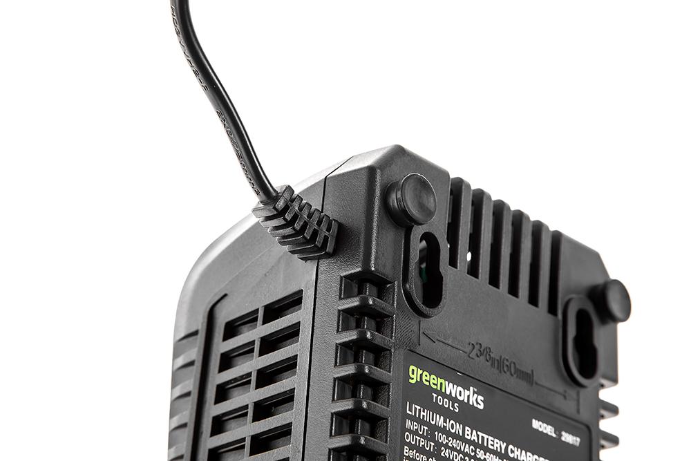 Зарядное устройство Greenworks G24uc (2903607 ) БЕЗ АККУМ