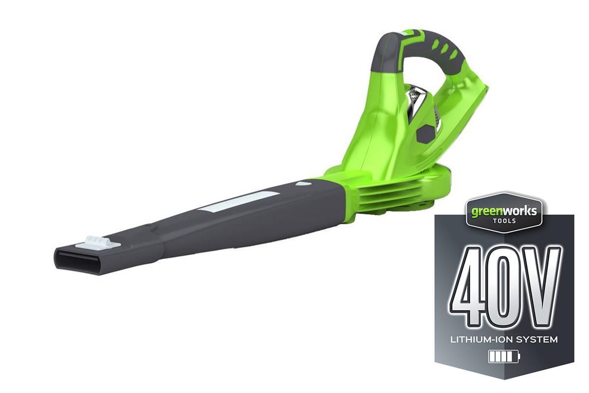 цена на Воздуходувка Greenworks G40bl (24107) БЕЗ АККУМ и ЗУ