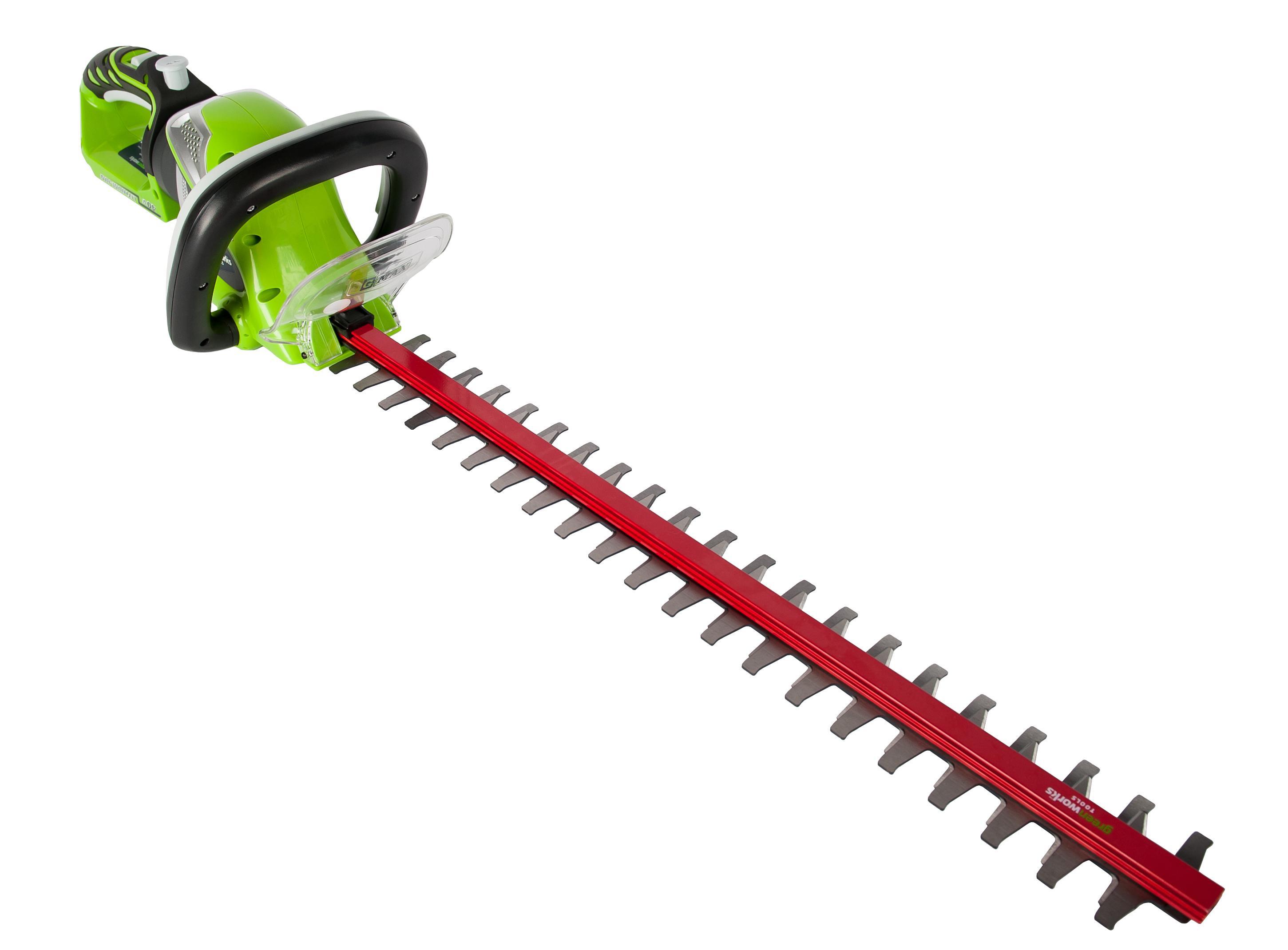 Кусторез Greenworks G40ht61 (22637t) БЕЗ АККУМ и ЗУ кусторез g40ht61 40в greenworks tools 22637t