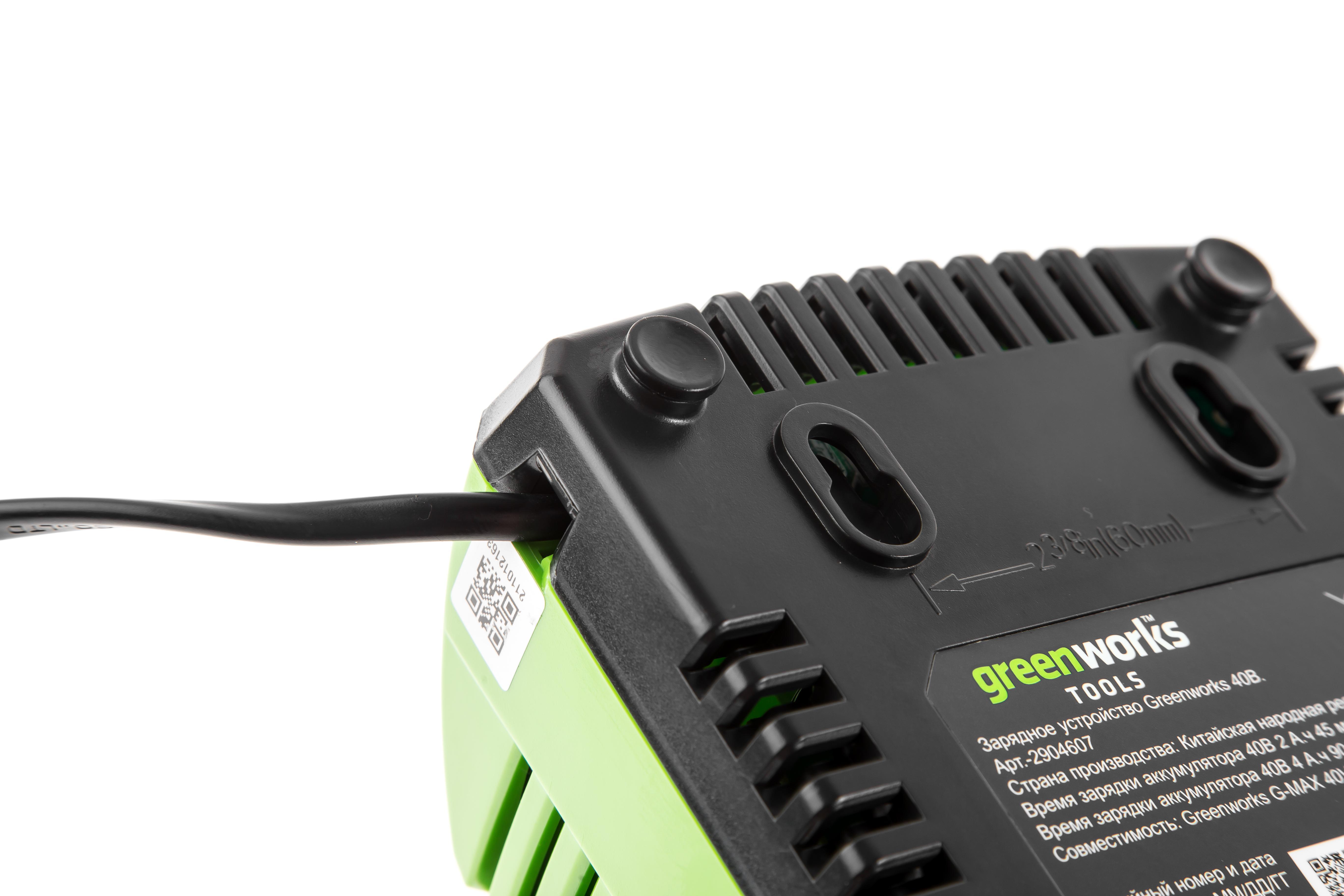 Зарядное устройство Greenworks G40c (2904607) БЕЗ АККУМ