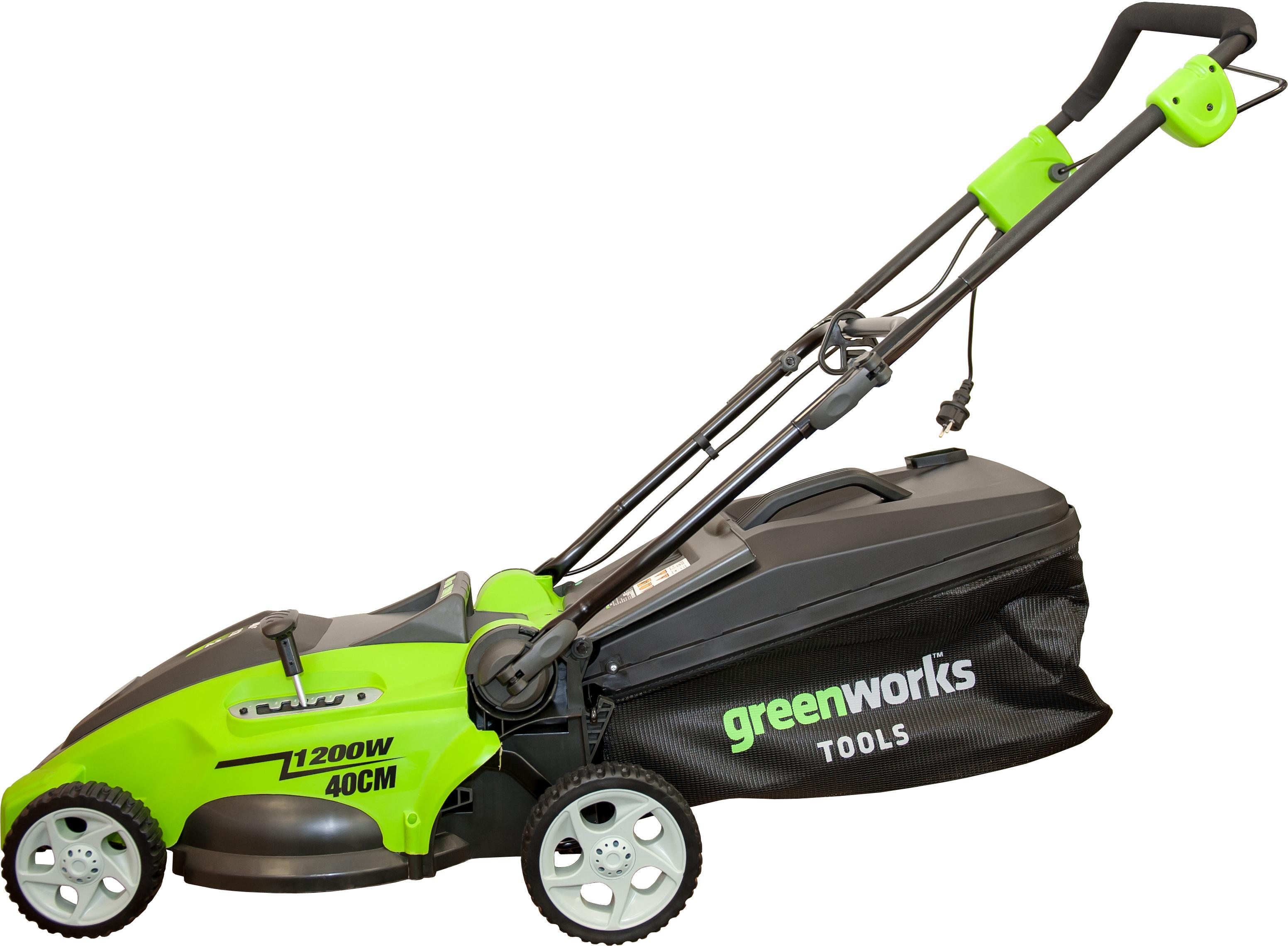 Газонокосилка Greenworks Glm1240 (25147)