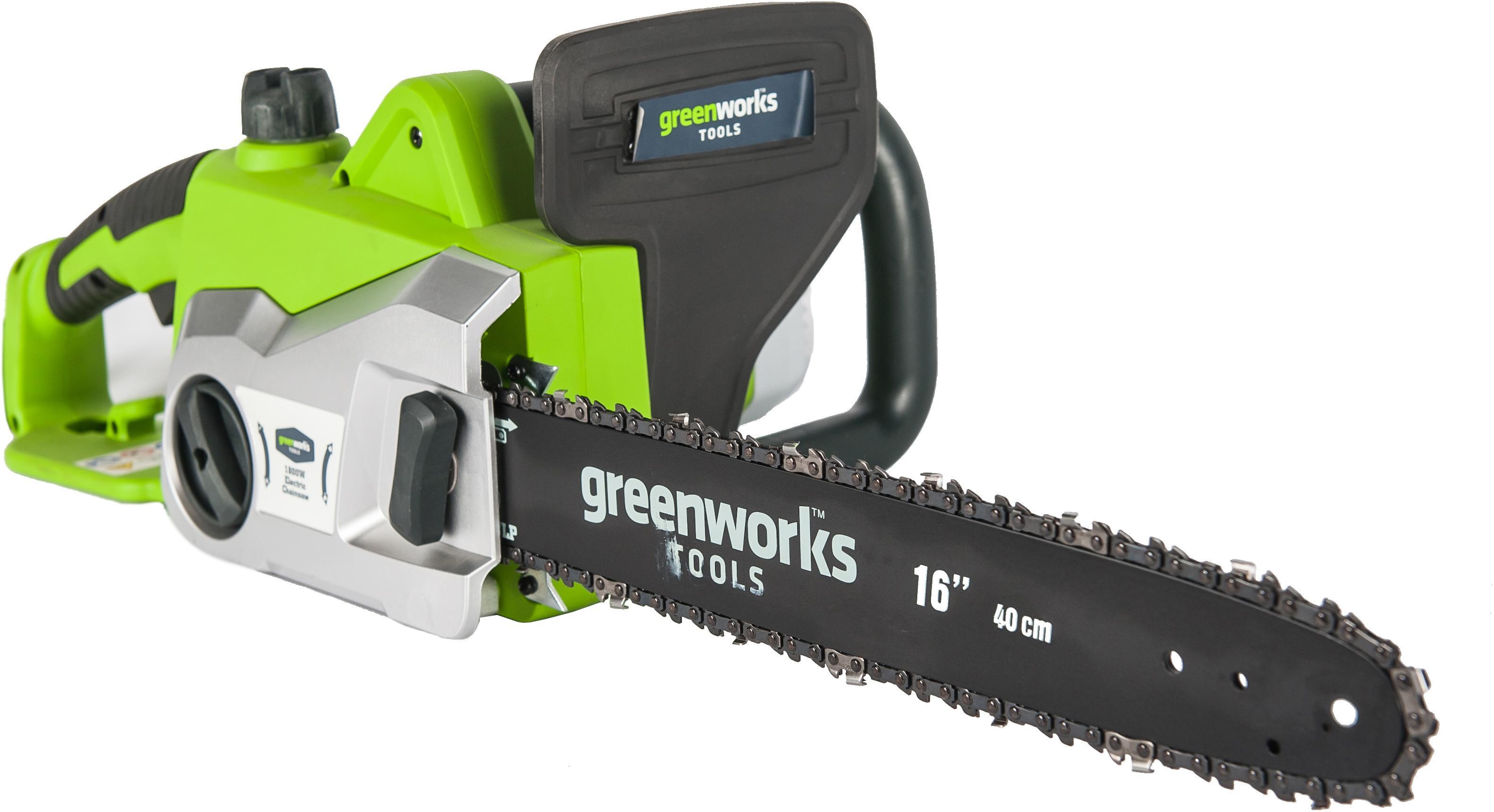 Пила цепная Greenworks Gcs1840 (20027) пила greenworks gcs1840 20027
