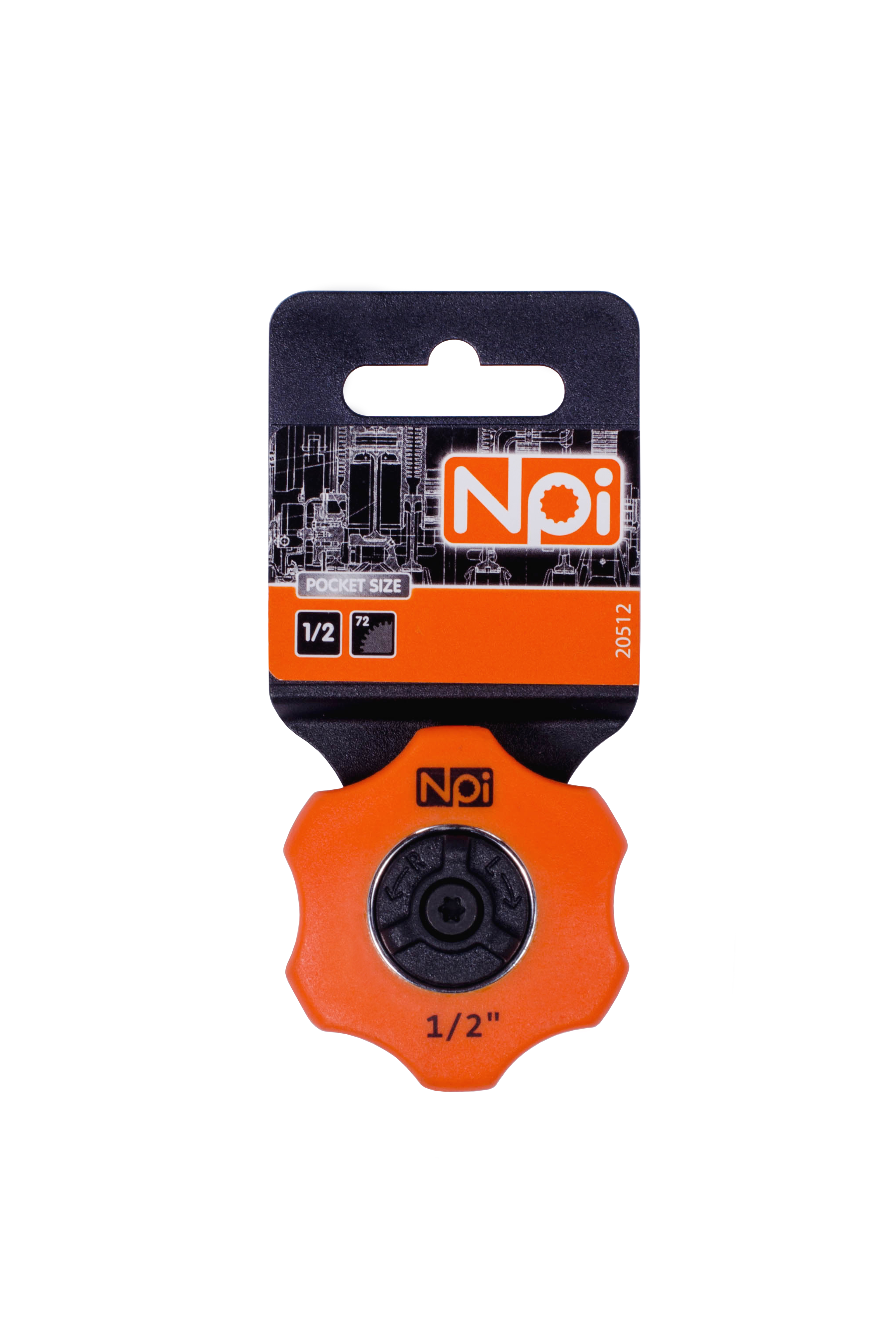 Трещотка Npi 20512  трещотка npi 3 в 1