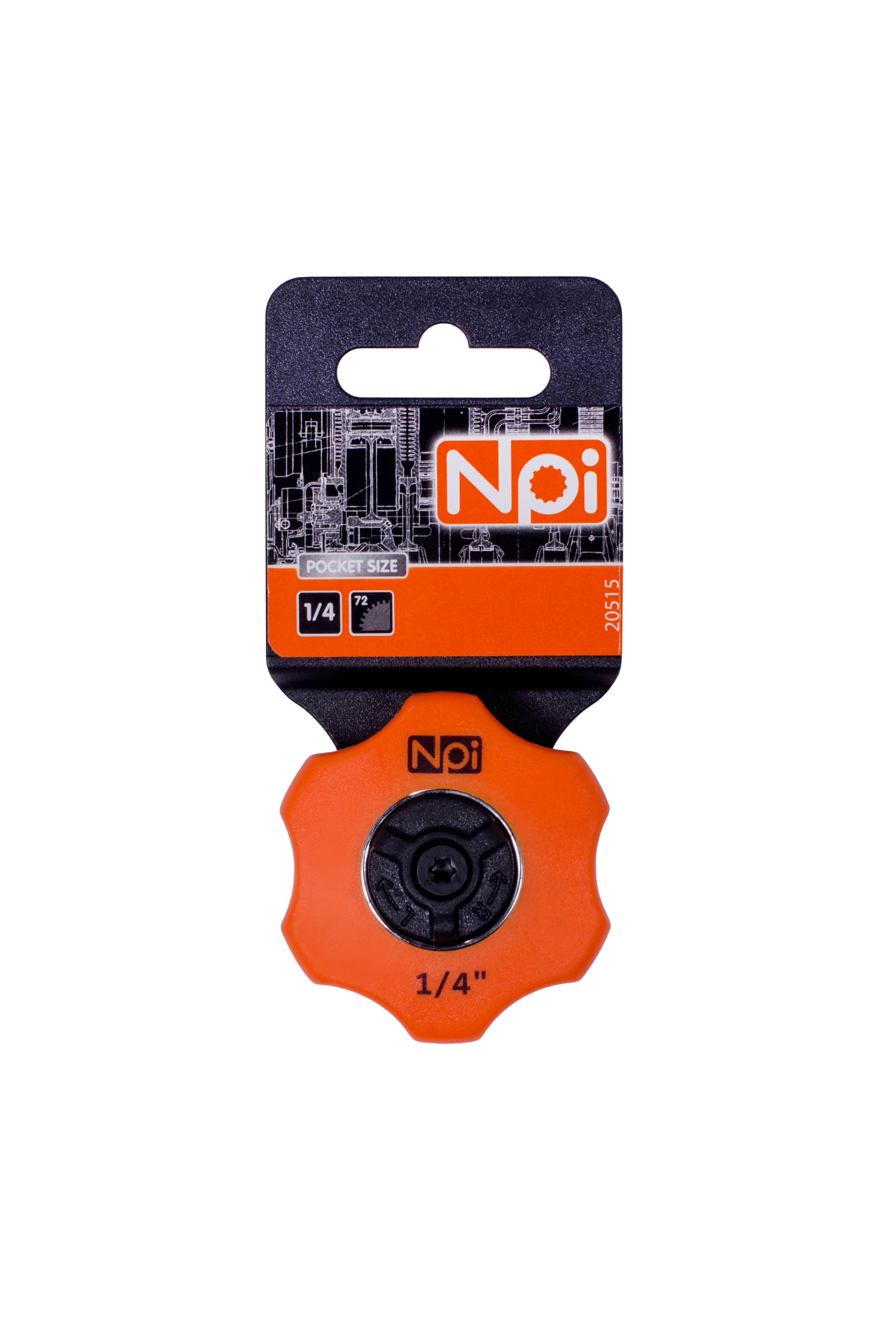 Трещотка Npi 20515  трещотка npi 3 в 1