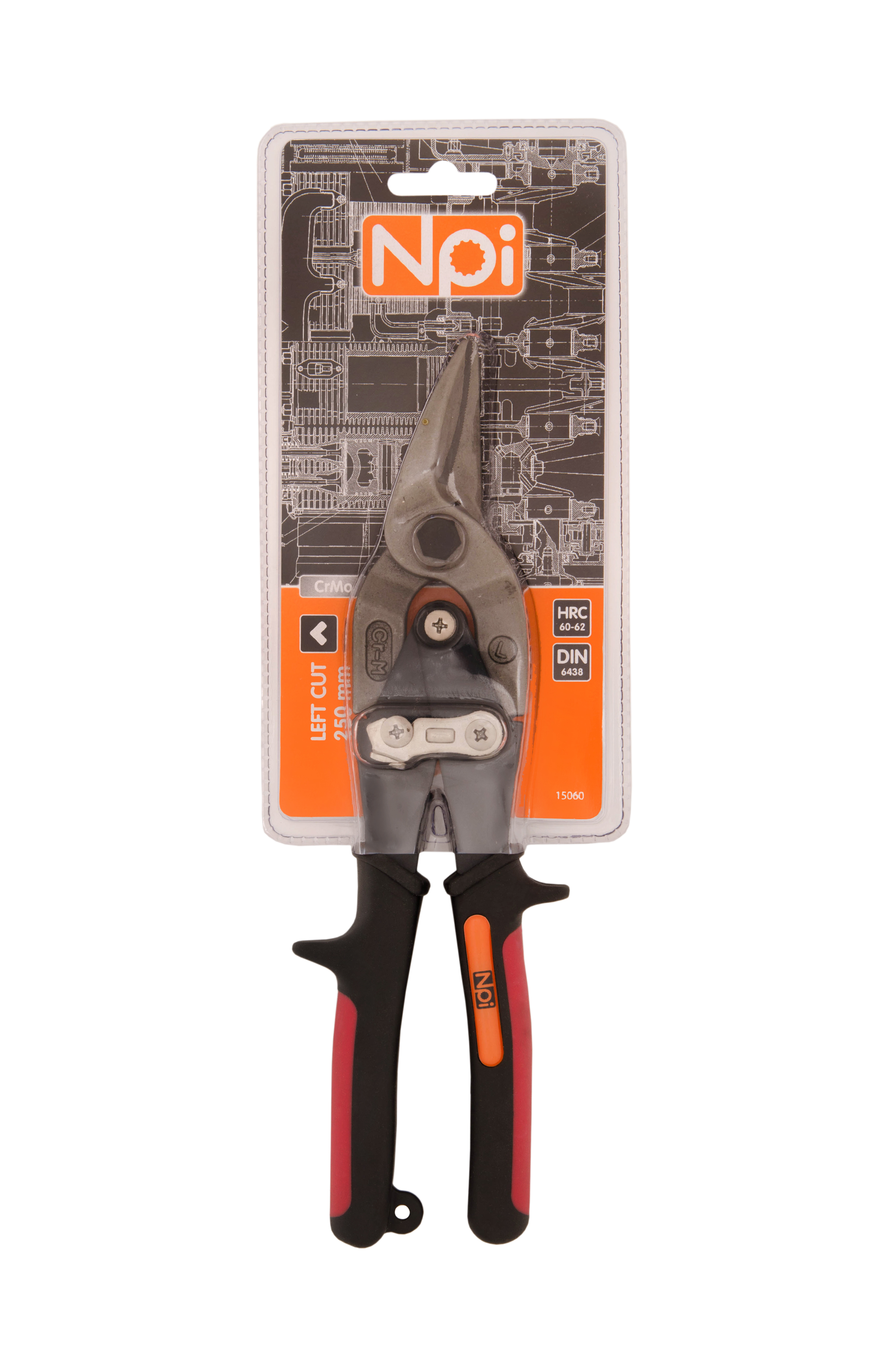 Ножницы по металлу Npi 15060