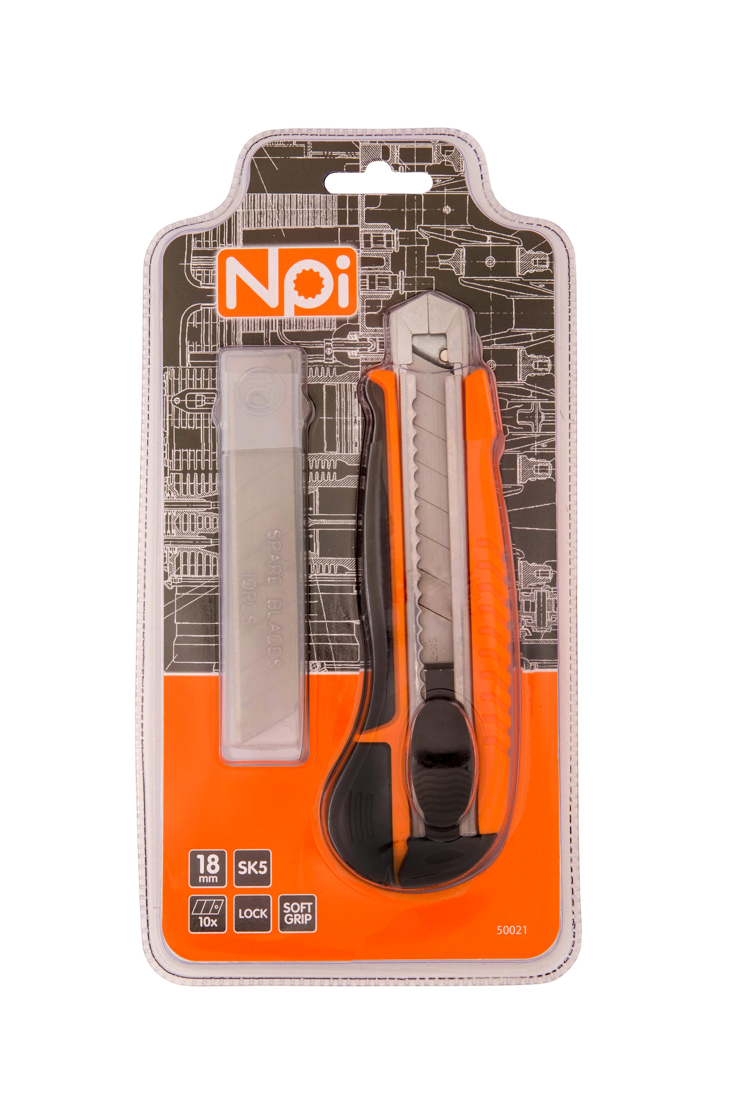 цены Нож Npi 50021 строительный