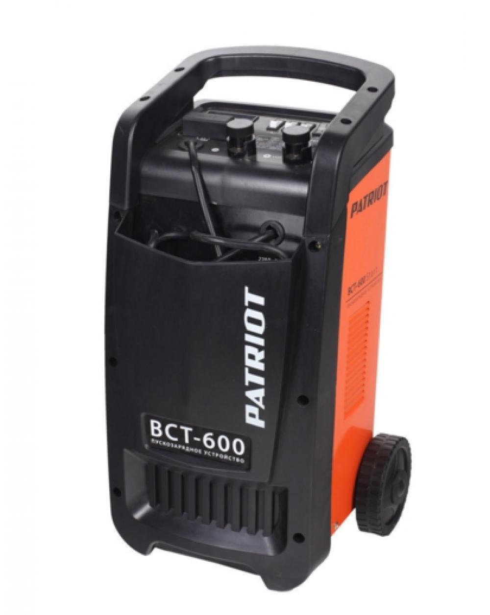 Устройство пуско-зарядное Patriot Bct-600 start фото