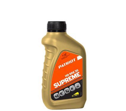 Масло моторное PATRIOT SUPREME HD SAE 30 4T 0.592л