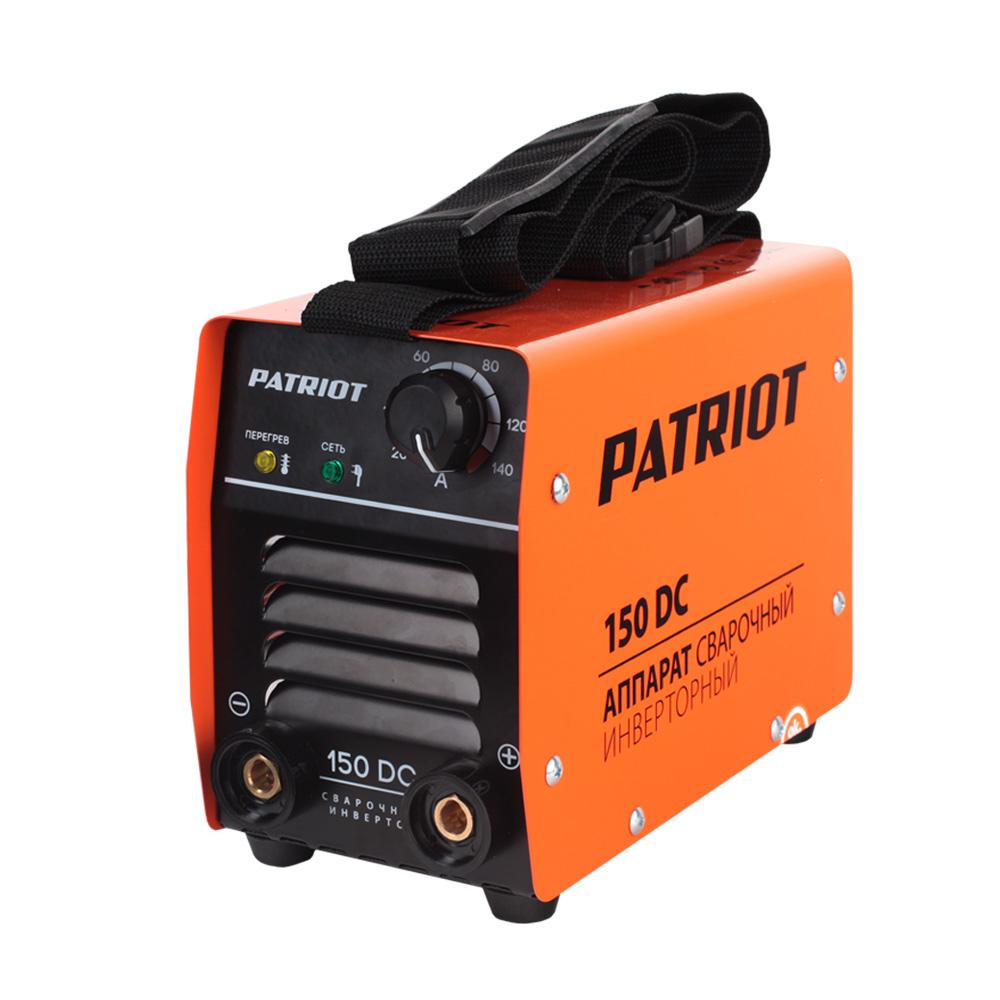 Сварочный аппарат Patriot 150dc mma снегоуборщик patriot сибирь 60 426108600