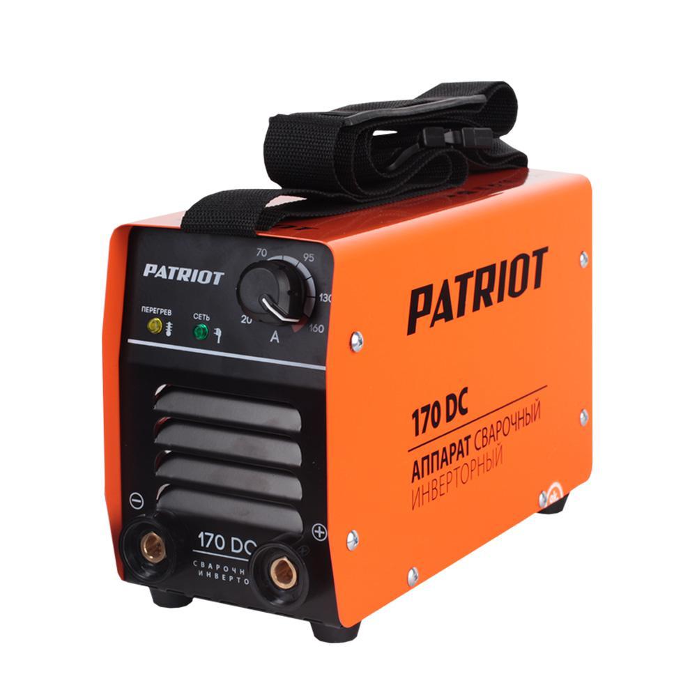 цена на Сварочный аппарат Patriot 170dc mma