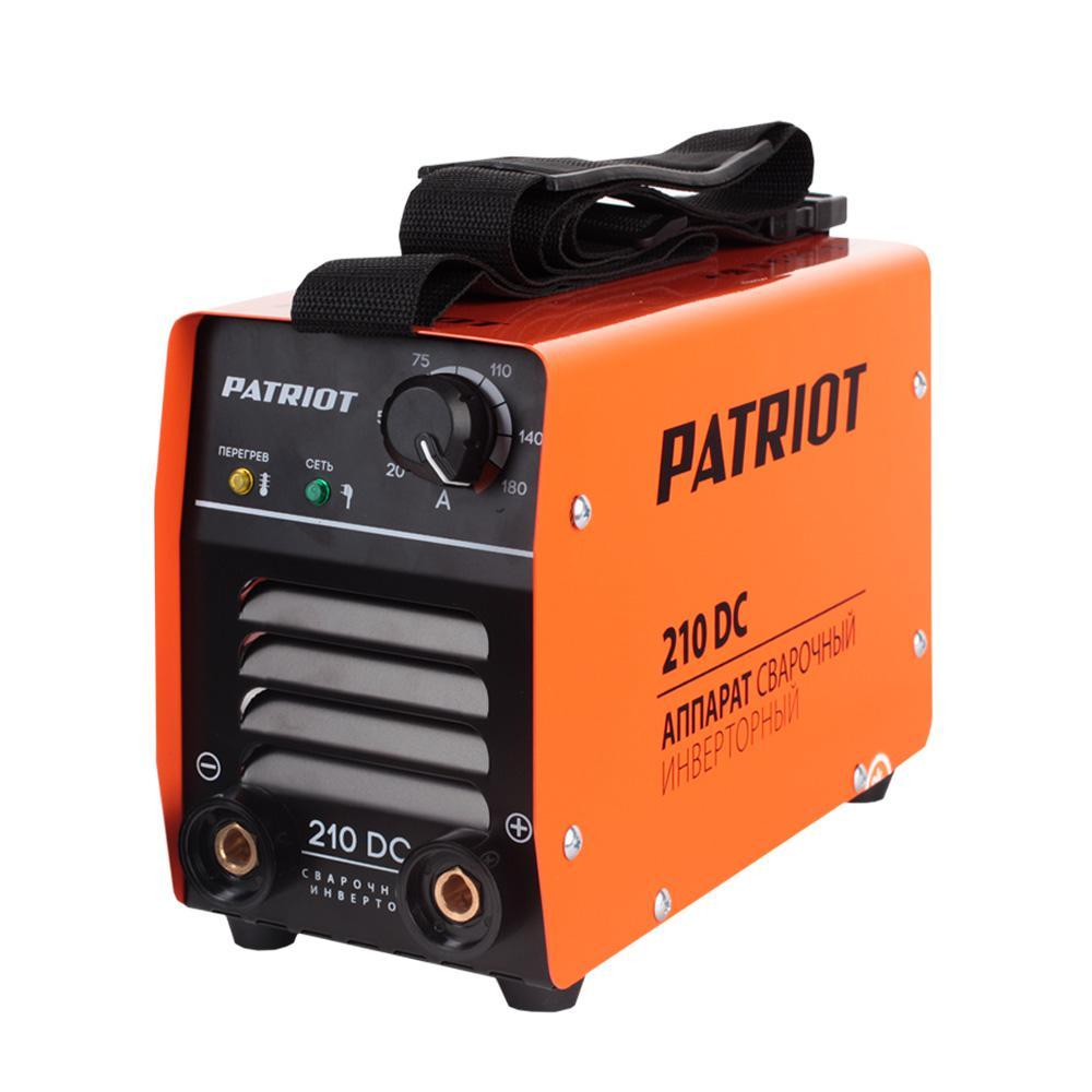 Сварочный аппарат Patriot 210dc mma сварочный аппарат инверторный patriot 210dc mma