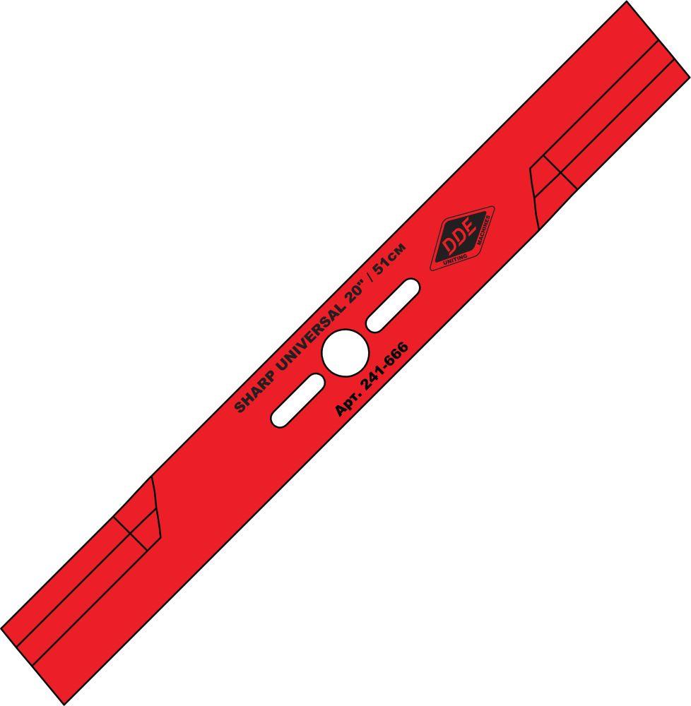 Нож Dde Universal 241-666 shark гибкий вал dde 241 727 zx45 4м