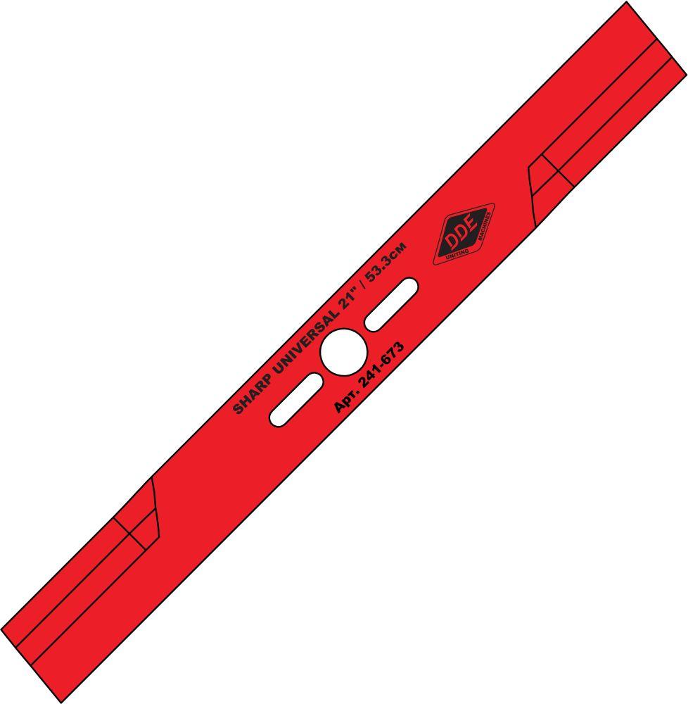 Нож Dde Universal 241-673 shark нож для триммера dde grass cut 8 230 25 4 20mm 241 413