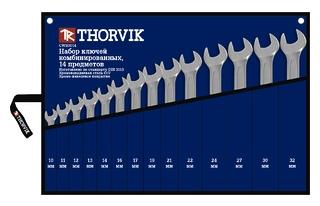 цены Ключ гаечный Thorvik Cws0014 (10 - 32 мм)